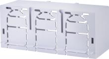 Защитная крышка, 3p, размер 00, нижняя, короткая (длина снизу вверх 195мм) арт.1696124