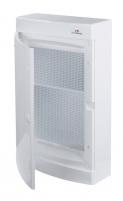 Щит пласт. наружн. исп. ECT36 MEDIA-PO (перф.панель, белая дверца) арт. 001100213