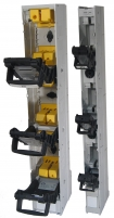 Разъединитель SL00 1P 160A M8 P (M8, пофазное отключение, утопленные рукоятки) арт.1692011