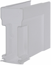 Защитная крышка, 3p, размер 00, верхняя, короткая (длина снизу вверх 195мм) арт.1696123