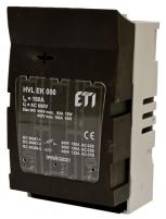Разъединитель HVL EK 000 100A 3P OS00 16 арт.1701001