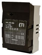 Разъединитель HVL EK 000 100A 3P OS00 50 арт.1701002