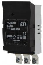 Разъединитель HVL-P EK 000 3p 100A M8 арт.1701013