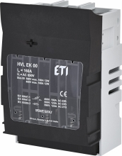 Разъединитель предохранителей HVL EK 00 3P M8 арт.001701250