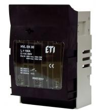 Разъединитель HVL EK 00 3p 160A BT00 10-70 арт.1701256