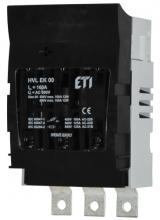 Разъединитель HVL-P EK 00 3p 160A M8 арт.1701260