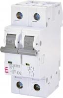 Авт. выключатель ETIMAT 6 2p B 1А (6 kA) арт. 002113509