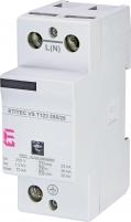 Ограничитель перенапряжения ETITEC VS T123 255/25 (1+0) RC арт. 002442932