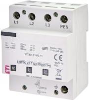 Ограничитель перенапряжения ETITEC VS T123 255/25 (3+0) арт. 002442937