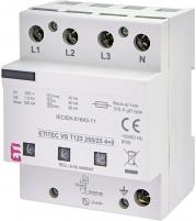 Ограничитель перенапряжения ETITEC VS T123 255/25 (4+0) арт. 002442938
