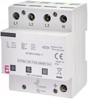 Ограничитель перенапряжения ETITEC VS T123 255/25 (3+1) арт. 002442939