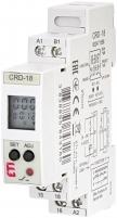 Многофункциональное цифровое реле времени CRD-18 (24-240V AC/DC, 1x8A_AC1) арт. 002471558