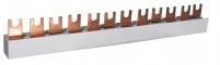 Шина питания IZ10/L1NL2NL3N/54 (10мм2, 3P+N, 1м, Fork, 54mod.) арт. 002921279