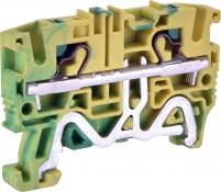 Клемма пружинная заземляющая ESH-EFCE.4 (4 мм2, желто-зел., push-in) арт. 003903276