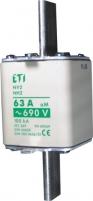 Предохранитель NH-0/aM  80A 690V арт.4112133