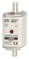 Предохранитель NH-000/gCP 50 kVAr арт. 004117114