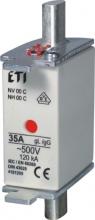 Предохранитель NH-00C ISO/gG 4A 500V KOMBI арт.4191202
