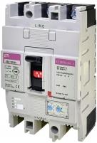 Авт. выключатель EB2 125/3V 63A ((0.63-1)In/(6-12)In) 1000V 3P арт. 004671374