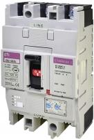 Авт. выключатель EB2 125/3V 125A ((0.63-1)In/(6-10)In) 1000V 3P арт. 004671376