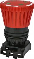 Кнопка-модуль грибок EGM-MI-T (отключ. поворотом, с индикацией, красная) арт. 004771613