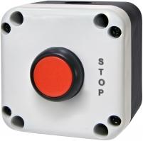 """Кнопочный пост 1-модул. ESB1-V2 (Standart, """"STOP"""", красная) арт. 004771622"""