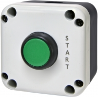 "Кнопочный пост 1-модул. ESB1-V3 (Standart, ""START"", зеленая) арт. 004771623"