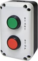 """Кнопочный пост 2-модул. ESB2-V4 (Standart, """"START/STOP"""", зеленая/красная) арт. 004771626"""