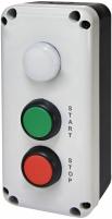 """Кнопочный пост 3-модул. ESB3-V8 (Standart, """"START/STOP"""" с ламп. LED240V AC, красная/зеленая/белая) арт. 004771628"""