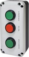 """Кнопочный пост 3-модул. ESB3-V6 (Standart, """"FORWARD/STOP/REVERSE"""", зелен./красн./зелен.) арт. 004771629"""