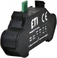 Блок контактов ESL-NO (1NO, с пружинными клеммами) арт. 004771639