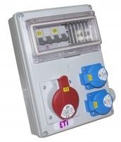 Промышленный распределительный щит EDS11 2-2/3-5 32/16 арт.4483307