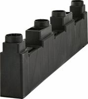 4-полюсный держатель для шин 5-10мм. и 20мм. или 30мм. ширины арт.1696002