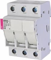 Разъединитель для цилиндрических предохранителей 10x38    EFD 10 3p Арт. 2540004