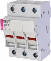 Разъединитель для цилиндрических предохранителей 10x38    EFD 10 L 3p L-LED Арт. 2540014