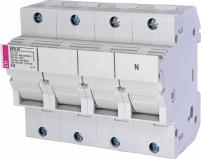 Разъединитель для цилиндрических предохранителей 14x51   EFD 14 3p+N Арт. 2560005