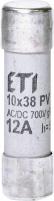 Предохранитель CH 10x38 gR-PV  12A 700V (30kA) Арт. 2625022