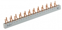 Шина электромонтажная изолированная SKN0029/10 (3p+N) 12мод. (для KZS-1M , нижн.подкл.) Арт. 2921154