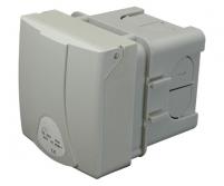 Розетка в коробке внутренней установки, IP44, (32A, 400V) Арт. 4482101