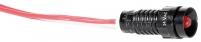 Лампа сигнальная LS LED 5 R 24 (5мм, 24V AC, красная) Арт. 4770802