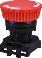 Кнопка-грибок (отключение поворотом) EGM-T-R Арт. 4771290