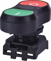 Кнопка сдвоенная (черная) ON-OFF EGT-C Арт. 4771390