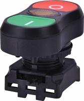 Кнопка сдвоенная ON-OFF с лампой EGTI-A Арт. 4771391