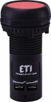Кнопка утопленная (с контактом NO) ECF-10-R Арт. 4771450