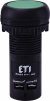 Кнопка утопленная (с контактом NO) ECF-10-G Арт. 4771451
