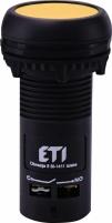Кнопка утопленная (с контактами NO+NC) ECF-11-Y Арт. 4771472