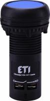 Кнопка утопленная (с контактами NO+NC) ECF-11-B Арт. 4771474