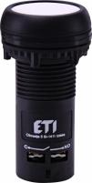 Кнопка утопленная (с контактами NO+NC) ECF-11-W Арт. 4771475
