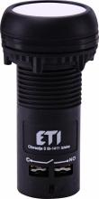 Кнопка утопленная (с контактами NO+NC) ECF-11-W Арт. 4771475   - купить по выгодной цене в Москве : EtiRussia.ru