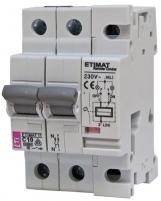 Авт. выключатель ETIMAT RC 2p C10 Арт. 631021108