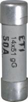 Предохранитель цилиндрический t.v.CH14/P aM 10A/500V 1433910 Арт. 6711033